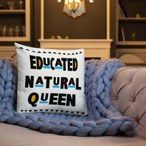 Limited Edition: Educated Natural Queen Pillow