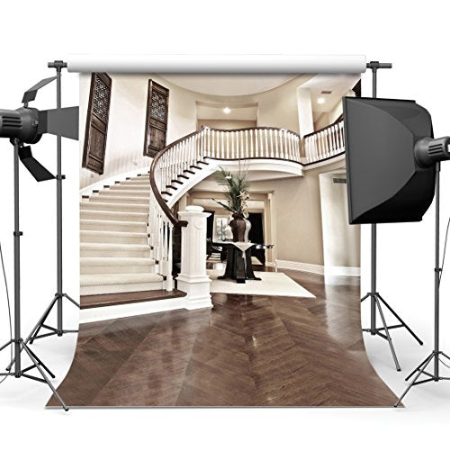 Flawless 10x10ft Indoor Photo Backdrops Stairs Photography Background Vinyl Wedding Studio