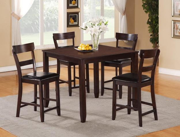 HENDERSON 5-PK COUNT DINING SET