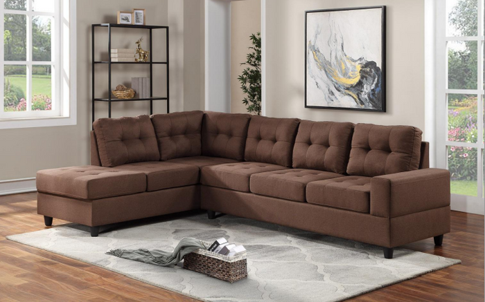 James Brown Sectional happy