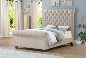 HH262 Upholstered Bed Queen & King Available