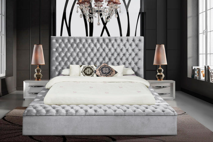 Paris Upholstered Bed - Queen & King **NEW ARRIVAL