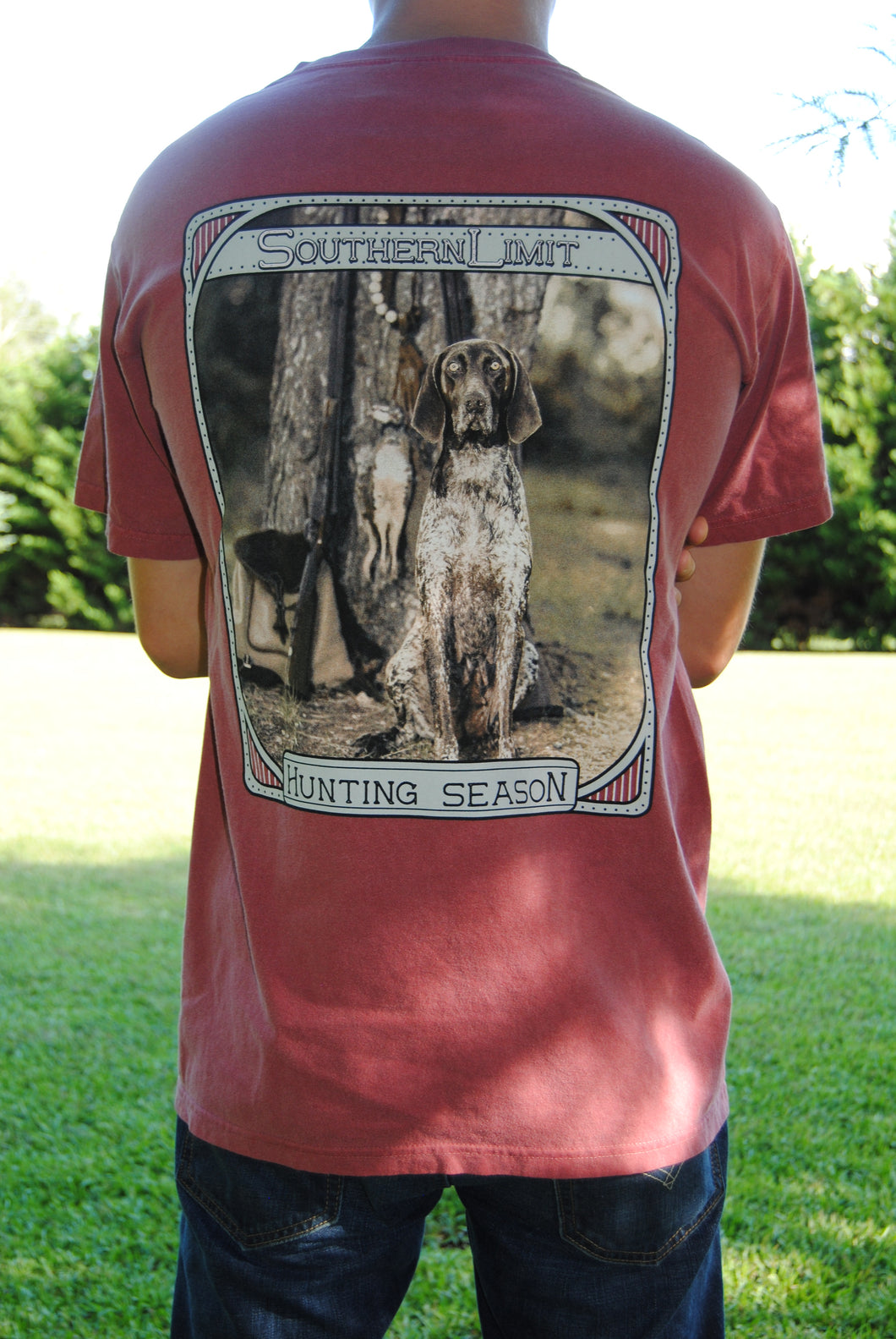 Southern Limit Tee - Hunting Dog