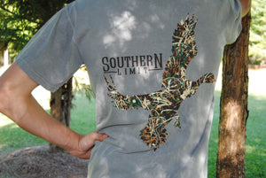 Southern Limit Tee - Camo Duck