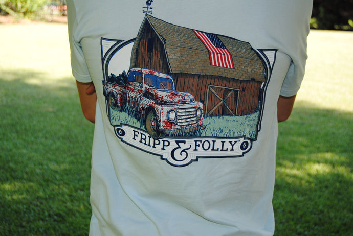 Fripp & Folly Tee - Farm House