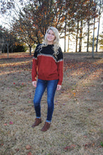 Rust - Stitch Sweater