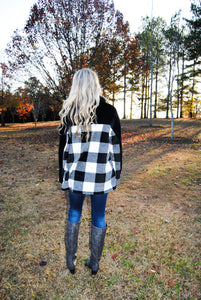 Sweet Plaid Pullover