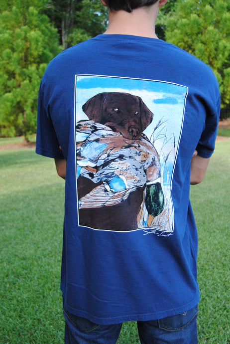 Southern Limit Tee - Chocolate Lab