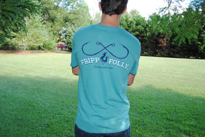 Fripp & Folly Tee - Fishing Hooks