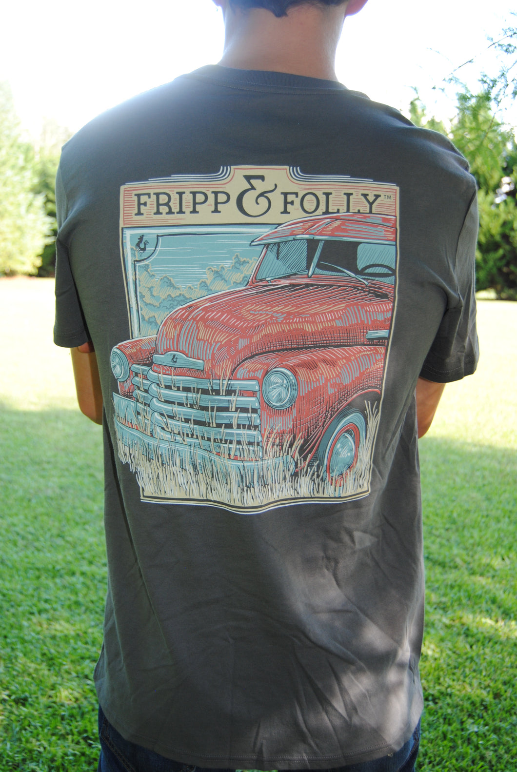 Fripp & Folly Tee - Old Truck Close Up
