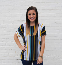 Stunning In Stripes Top