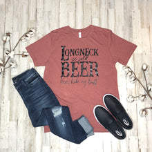 Long Neck Ice Cold Beer Tee