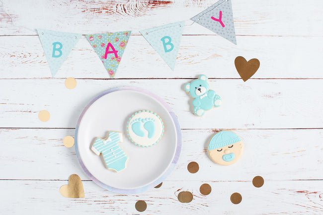 Baby Blue Bliss Biscuit Gift Box