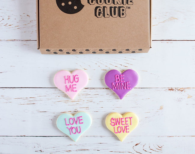Love Hearts Galore Biscuit Gift Box