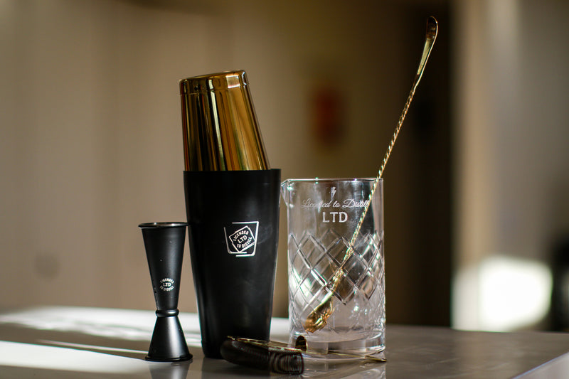 LTD First Edition Cocktail Kit - Black and Gold