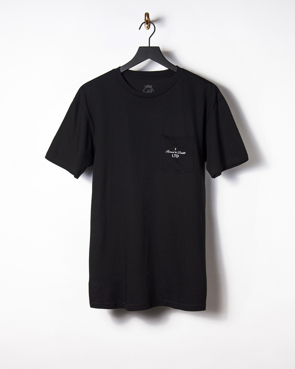 LTD Script Pocket Logo Tee