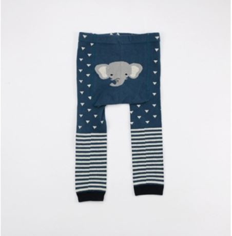 Combed Cotton Elephant Legging