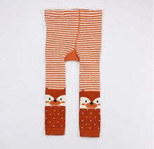 Load image into Gallery viewer, Combed Cotton Fox Legging