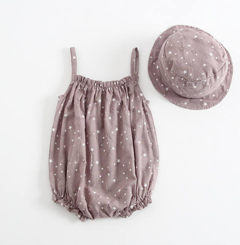 Twinkle Star Bodysuit and Hat Set