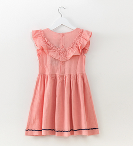 Olivia Pink Embroidered Dress
