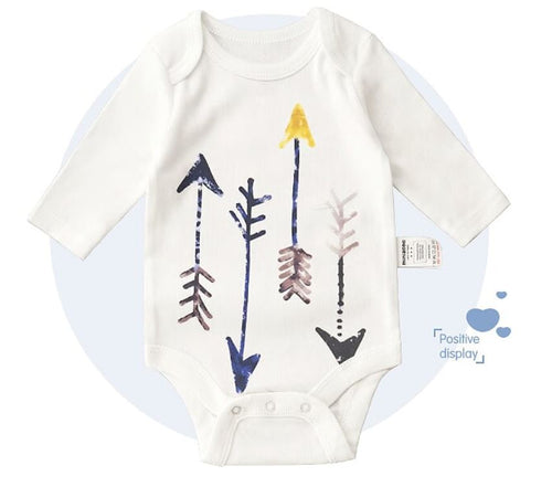 Long Sleeve Bodysuit - Hunting Arrows