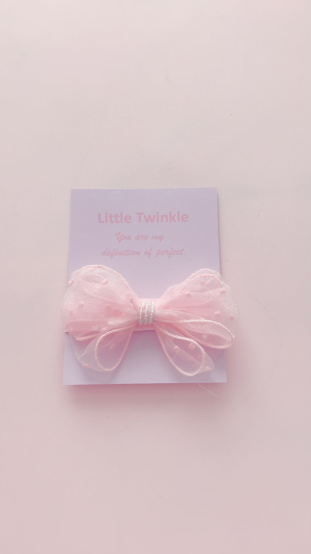 Hair Bow - Pink