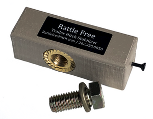 "Rattle Free Hitch Stabilizer 2"" - Includes FREE U.S. SHIPPING"