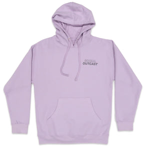Social Outcast Hoodie in Lavender / Charcoal