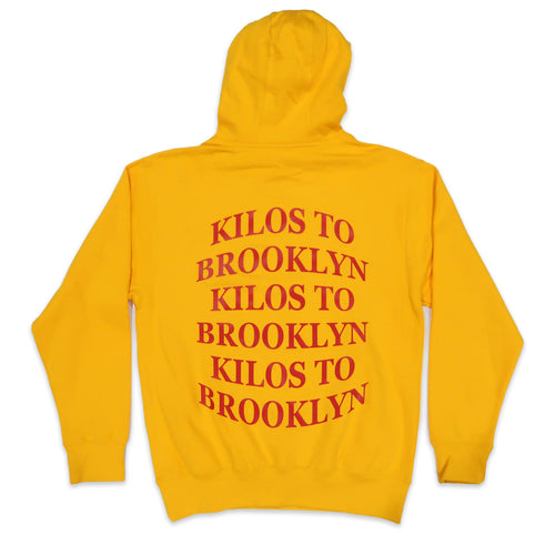 Kilos To Brooklyn Hoodie in Yellow