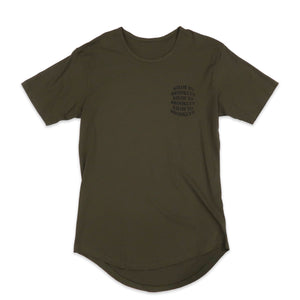 Kilos To Brooklyn Scoop Tee in Olive