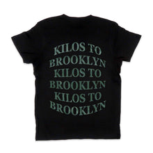 Load image into Gallery viewer, Kilos To Brooklyn Tee in Black and Green