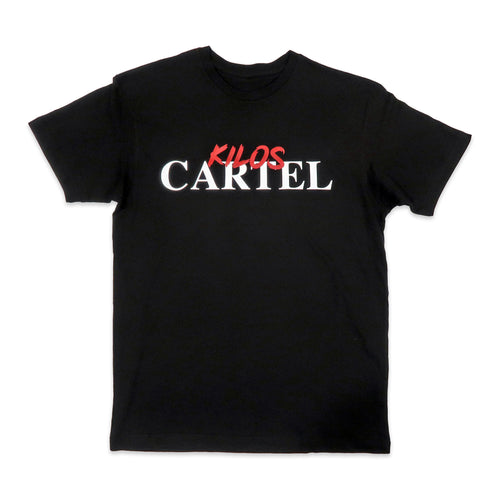 Kilos Cartel Tee in Black