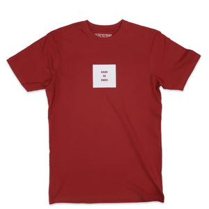 Heavyweight Choice Tee in Brick
