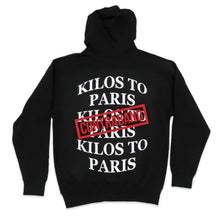 Load image into Gallery viewer, Contraband Kilos To Paris Hoodie in Black