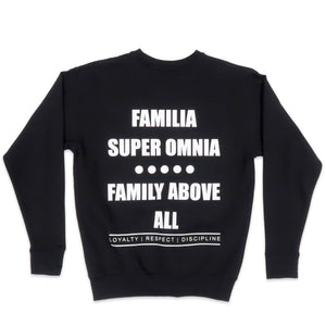 Familia Sweater in Black and White