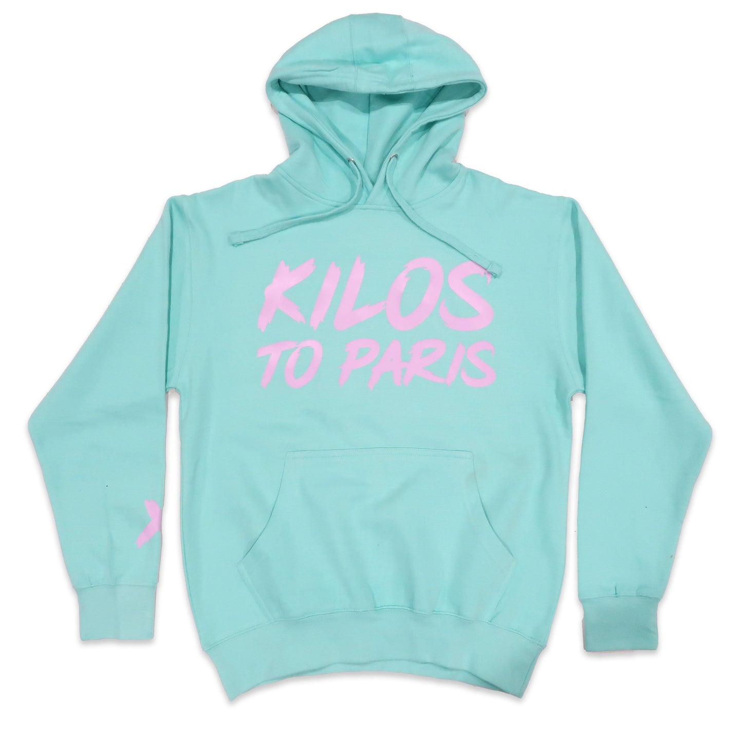 Kilos To Paris V2 Hoodie in Sky and Violet
