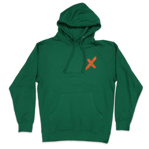 Kilos Hoodie in Green and Orange