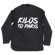 Load image into Gallery viewer, Kilos To Paris Black Denim Jacket