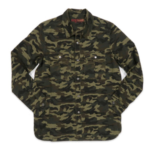 Kilos To Paris Camo Denim Jacket