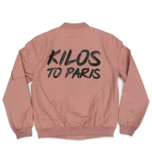Load image into Gallery viewer, Kilos To Paris Canvas Jacket in Pink