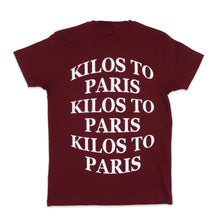 Load image into Gallery viewer, Kilos Basic Tee in Burgundy