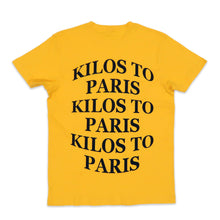 Load image into Gallery viewer, Kilos Basic Tee in Yellow and Black