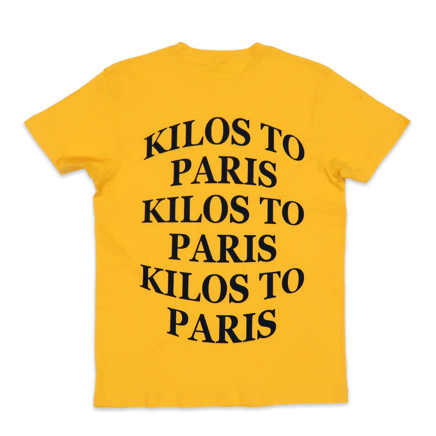 Kilos Basic Tee in Yellow and Black