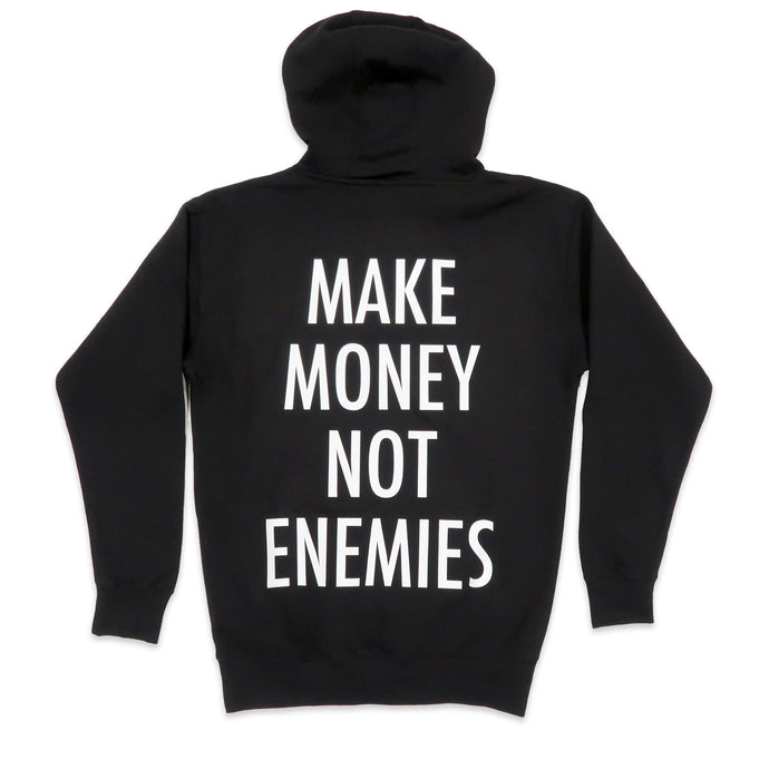 Nava Money Hoodie in Black and White
