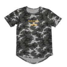Load image into Gallery viewer, LIMITED EDITION Kilos To Los Angeles Scoop Tee in Camo