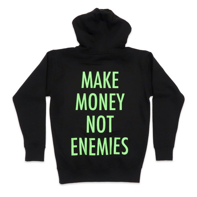 Nava Money Hoodie in Black and Green