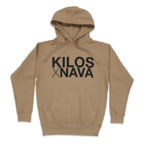 Nava Money Hoodie in Khaki and Black