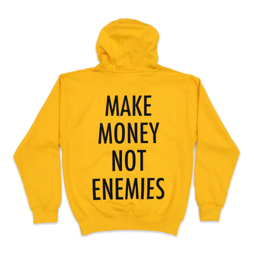 Nava Money Hoodie in Yellow and Black