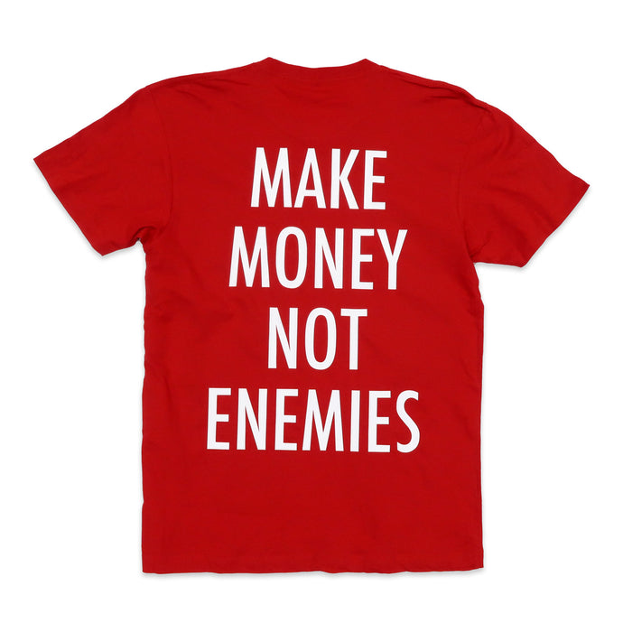 Nava Money Tee in Red and White