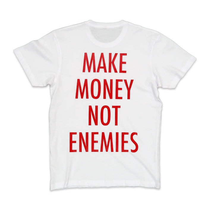 Nava Money Tee in White and Red
